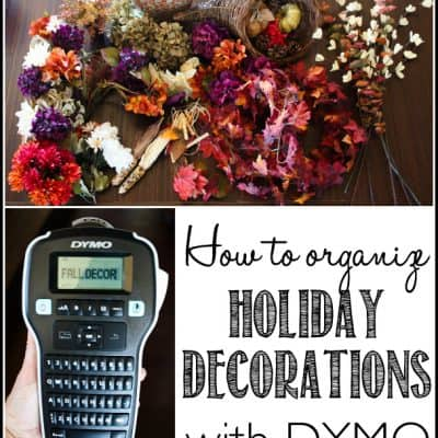 How to Organize Holiday Decorations and keep them Organized