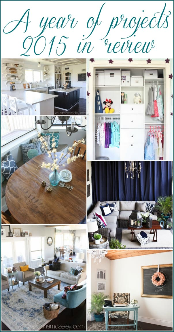 A roundup of projects from 2015 that completely transformed this home | Ask Anna