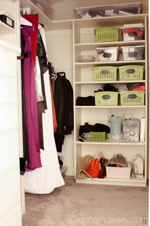 How To Organize The Master Bedroom Closet, No Matter What The Size. Lots Of