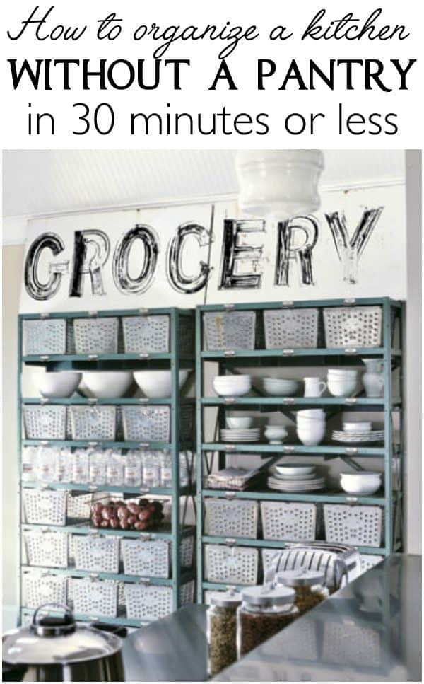 Lots Of Solutions For How To Organize A Kitchen Without A Pantry In 30  Minutes |