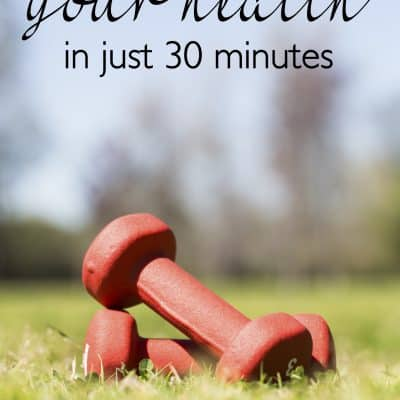 How to Organize your Health in 30 minutes