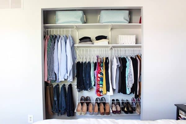 Organize Bedroom Closet Entrancing How To Organize The Master Bedroom Closet No Matter The Size . Decorating Design