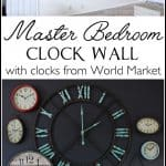 Create a fun statement wall using clocks | Ask Anna