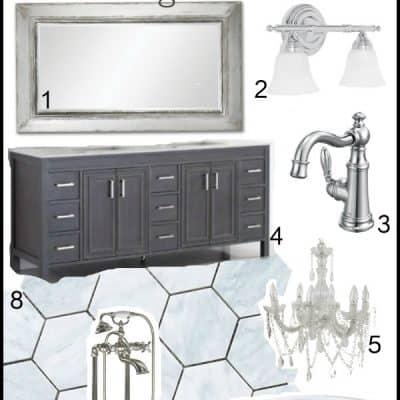 Master Bathroom Renovation – Design Board