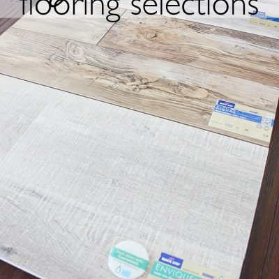 Downstairs Flooring Choices with Envique