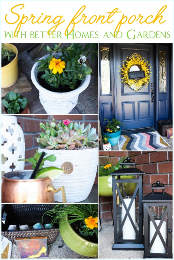 How To Decorate A Spring Front Porch With Better Homes And