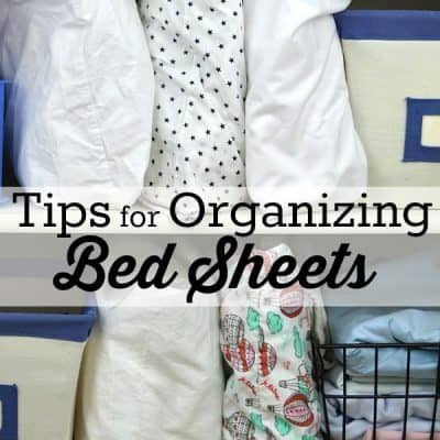 4 Simple Tips for Organizing Bed Sheets