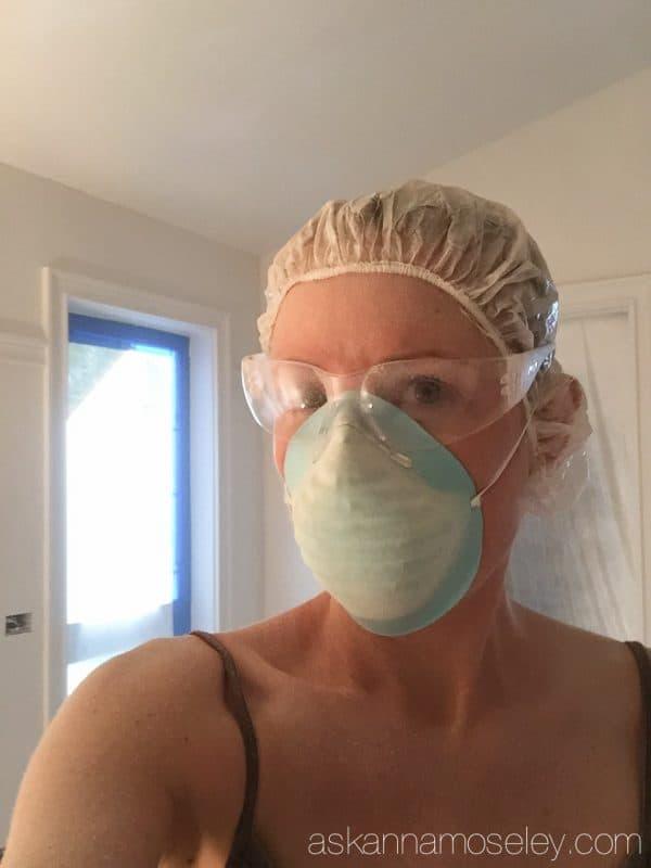 Master bathroom progress | Ask Anna