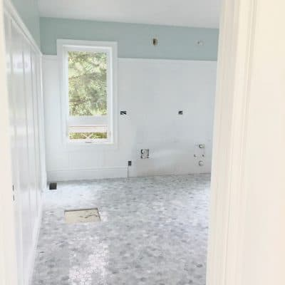 Master Bathroom Reno – Progress Update