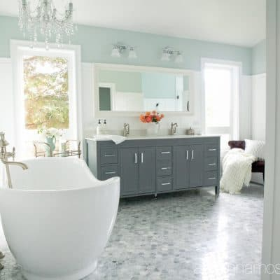 Master Bathroom Reno Reveal!!!