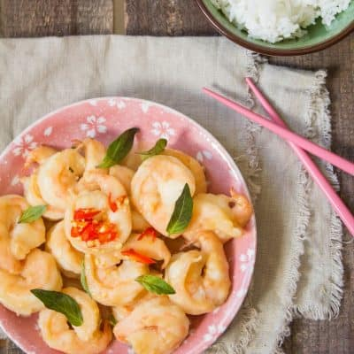 Quick and Easy Miso Glazed Shrimp