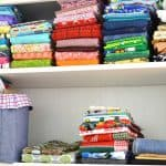 Easy tips for organizing fabric and your sewing room | Organized 31 for Ask Anna