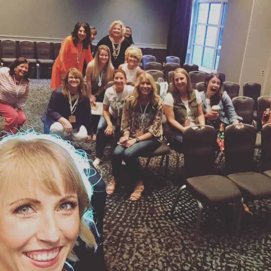 Teaching an organizing class at the Haven Conference | Ask Anna