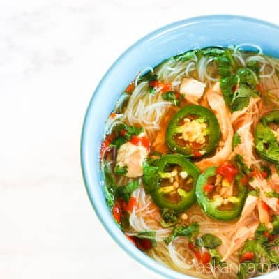 Quick and Easy Pho Recipe that's Oh-So Good!