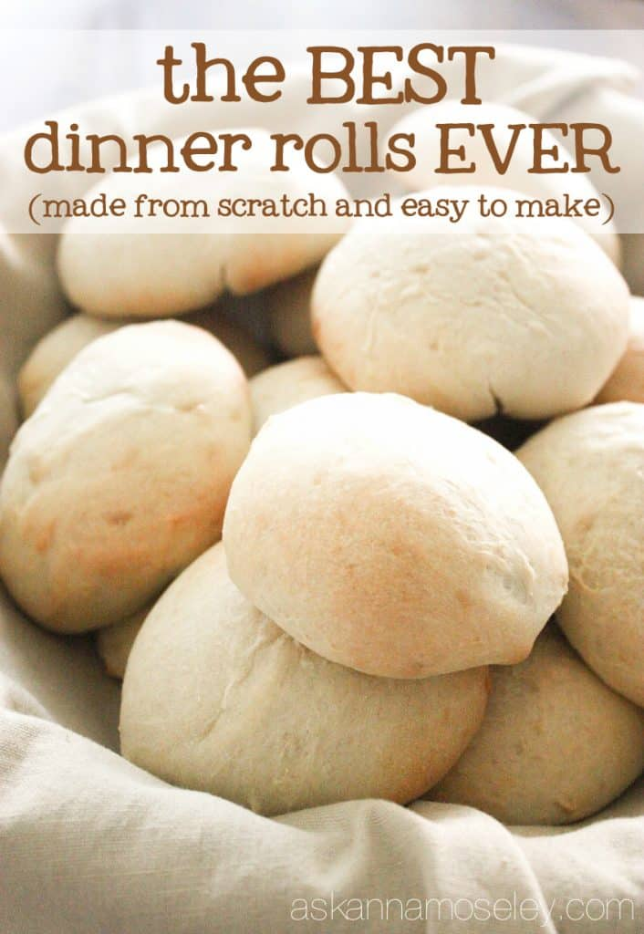 The BEST Dinner Rolls from Scratch (seriously THE BEST ...