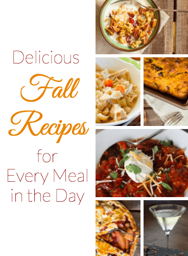 Delicious Fall Recipes for Every Meal in the Day