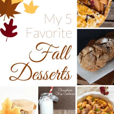 My 5 Favorite Fall Desserts
