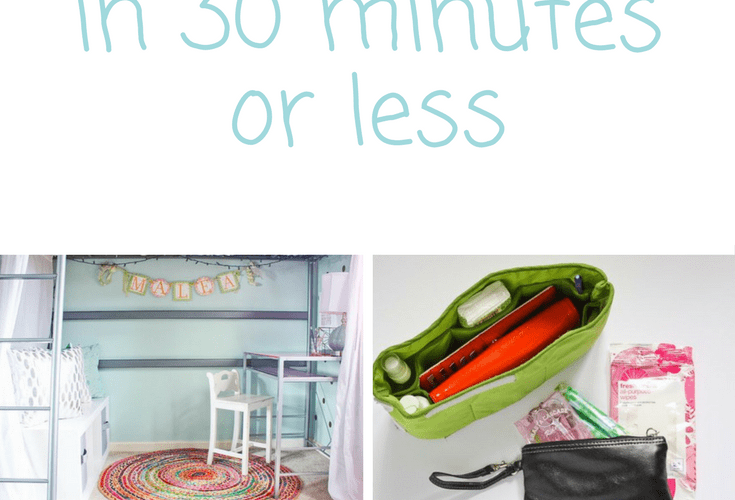 11 Things You Can Organize in Under 30 Minutes