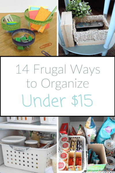 14 Ways to Organize for Less Than $15