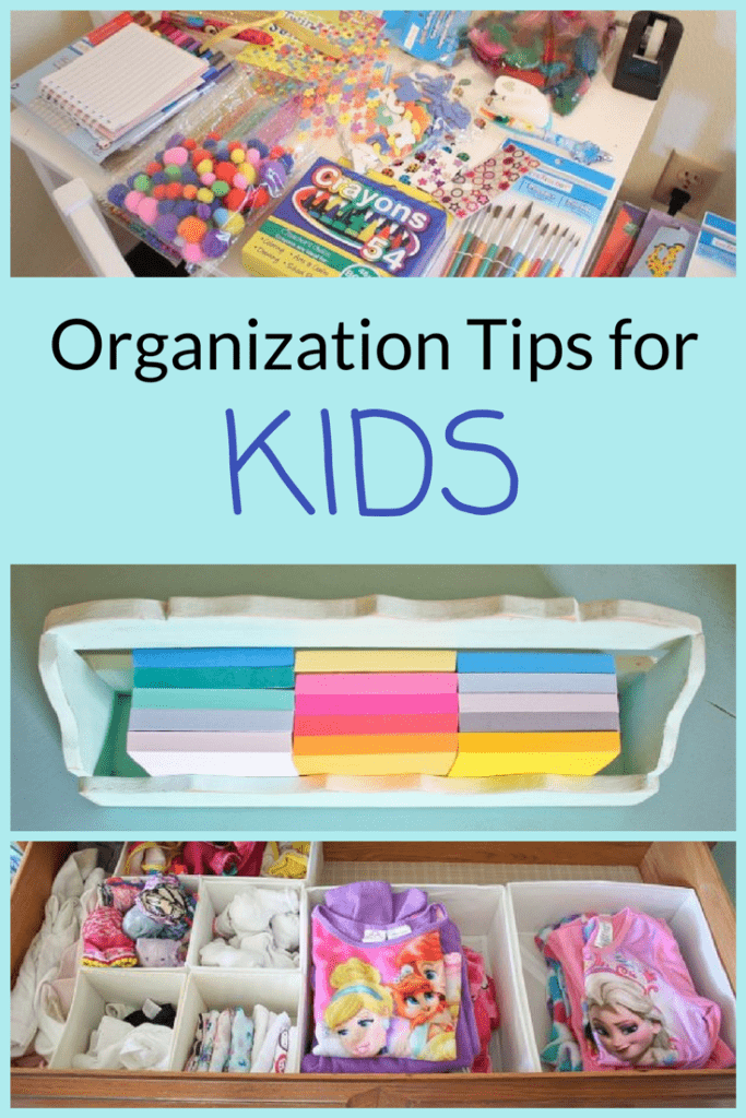 Find it hard to keep the place organized when you've got kids? It doesn't have to be difficult! From sorting their clothes and toys to teaching them to clean and organize by themselves, here are some quick and easy organization tips for kids.