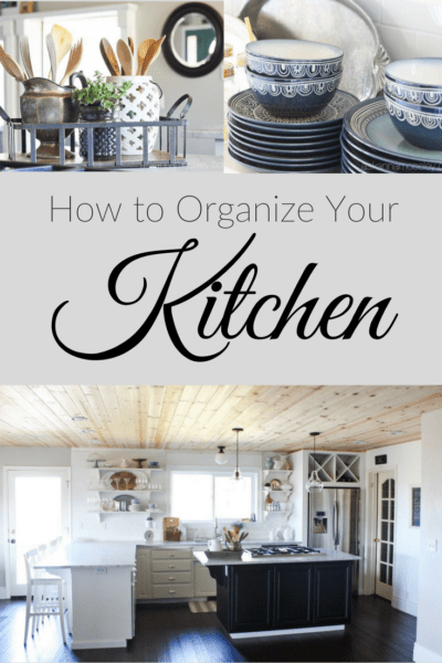 10 Cheap & Easy Kitchen Organization Tips