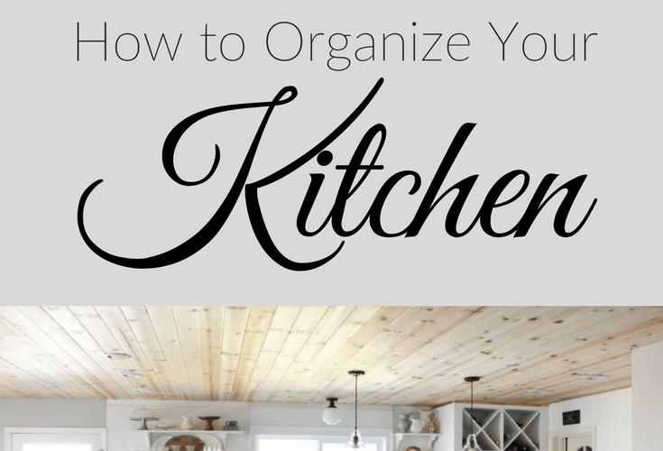 10 Cheap & Easy Kitchen Organization Tips