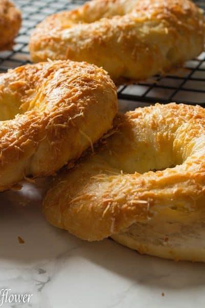 Easy-to-Make Homemade Parmesan Bagels