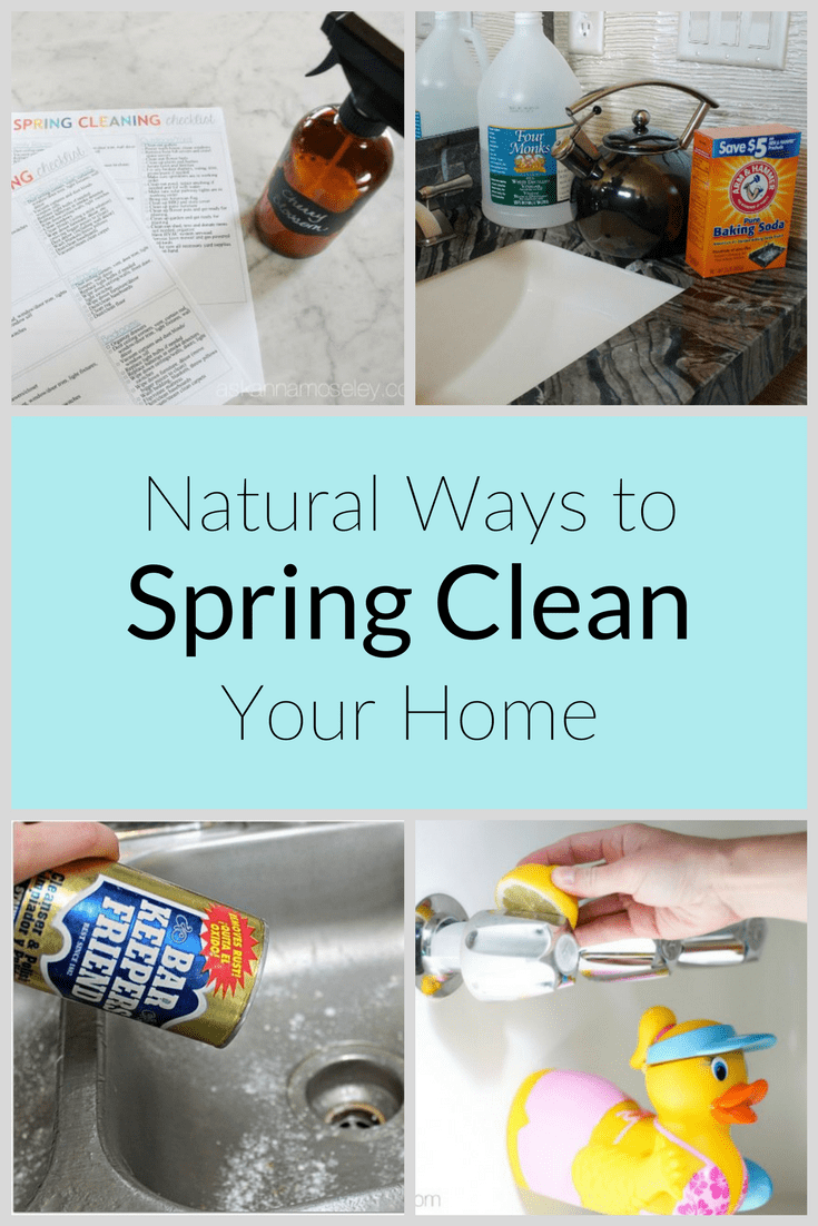 I enjoy spring cleaning with natural products instead of chemical-filled ones. My house smells fresher, is cleaner, and it's good for the environment, too! See all my chemical-free tips to freshen up your spring cleaning too. | Ask Anna