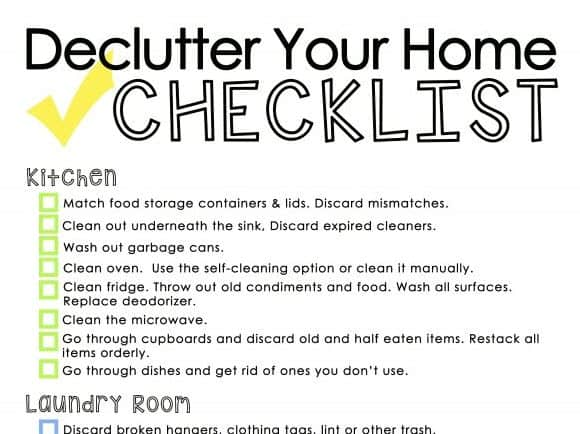 Spring is here, which means spring cleaning is upon us! Whether you love it or loathe it, it's something we should probably all spend at least a little bit of time on. Here is a useful collection of printable spring cleaning checklists to help you get motivated. | Ask Anna