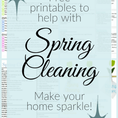 6 Spring Cleaning Checklists to Get You Motivated!