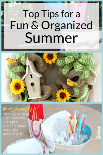 9 Tips for a Fun and Organized Summer