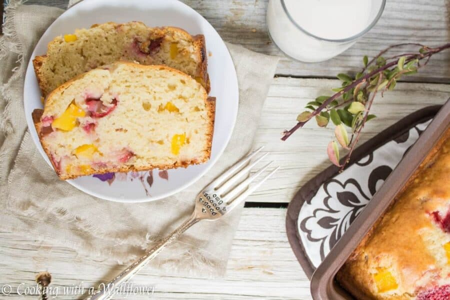 Strawberry Mango Bread | Ask Anna