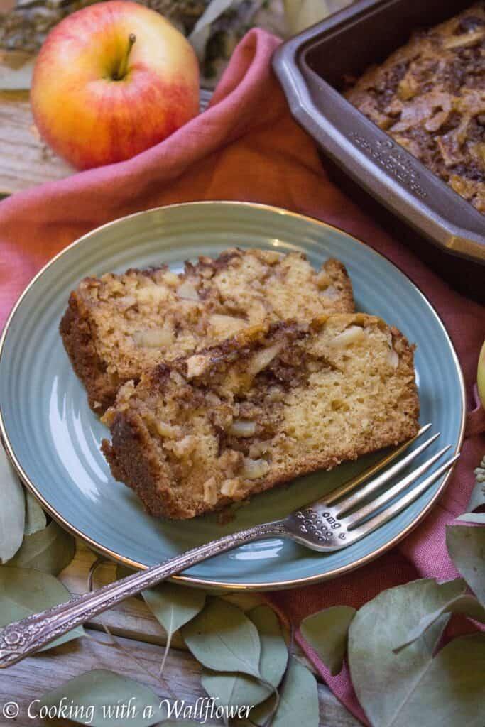 Chai Spiced Apple Bread