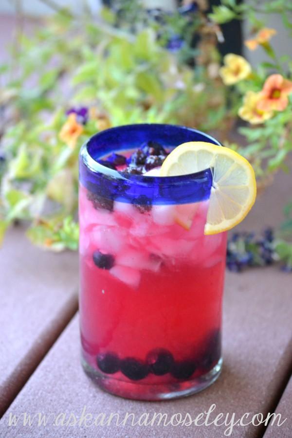 Blueberry Infused Vodka Lemonade   Ask Anna
