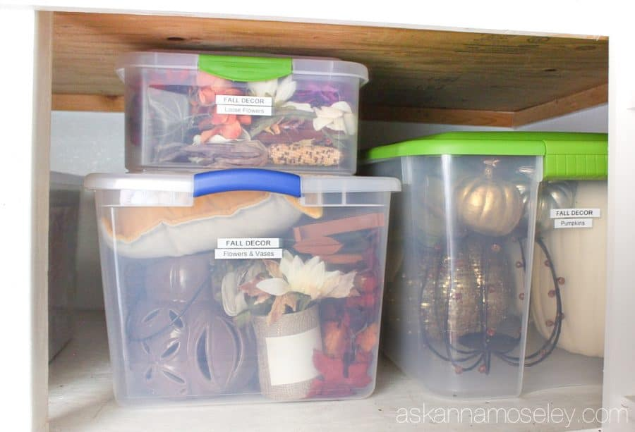 How to organized holiday decorations and keep them organized for years to come | Ask Anna