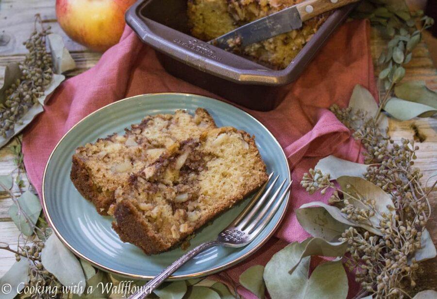 Chai Spiced Apple Bread | Ask Anna